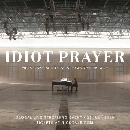 Idiot Prayer - Cave Nick Alone At Alexandra Palace - LP