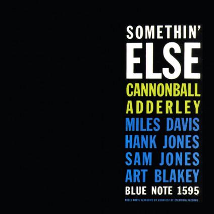 Somethin' Else - Cannonball Adderley - LP