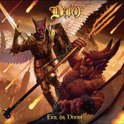 Evil Or Divine Live In New York City (Lenticular Edition) - Dio - LP