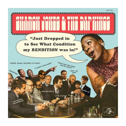 Just Dropped In (To See What Condition My Rendition Was In) - Sharon Jones & The Dap-Kings - LP