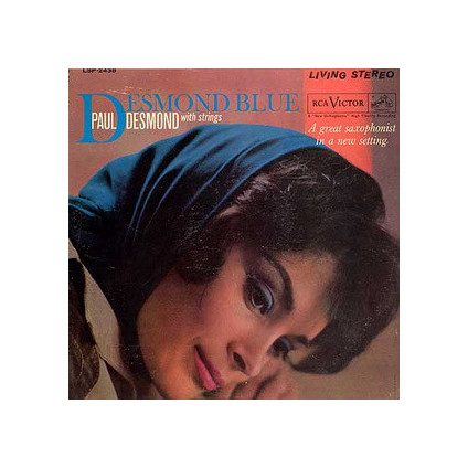 Desmond Blue - Paul Desmond With Strings - LP