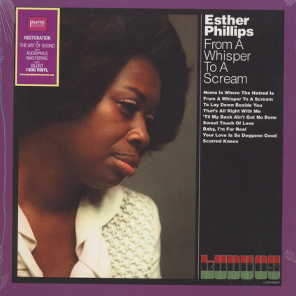 From A Whisper To A Scream - Esther Phillips - LP