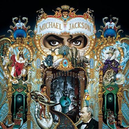 Dangerous - Michael Jackson - LP