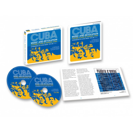 Cuba: Music And Revolution (Culture Clash In Havana Cuba: Experiments In Latin Music 1975-85 Vol. 1) - Various - LP