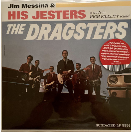 The Dragsters - Jim Messina & His Jesters - LP