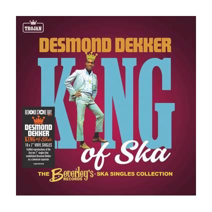 "King Of Ska (Beverley's Records · Ska Singles Collection) - Desmond Dekker - 7"""