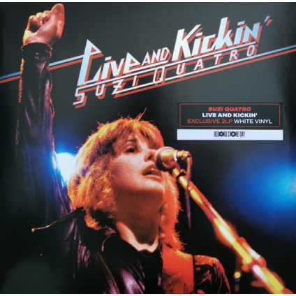 Live And Kickin' ( 2021 Mix) - Suzi Quatro - LP