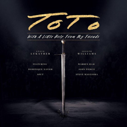 With A Little Help From My Friends - Toto - LP