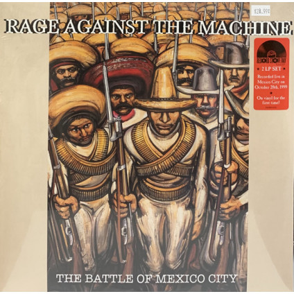 The Battle Of Mexico City - Rage Against The Machine - LP