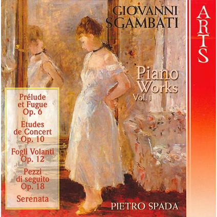 Pietro Spada - Giovanni Sgambati - CD
