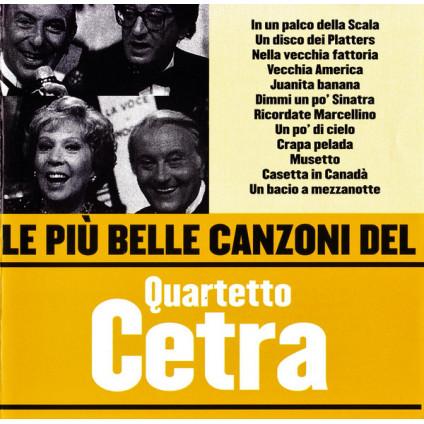 Le Più Belle Canzoni Del Quartetto Cetra - Quartetto Cetra - CD
