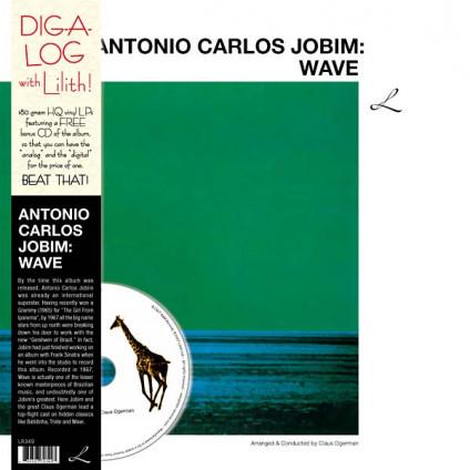 Wave - Antonio Carlos Jobim - LP