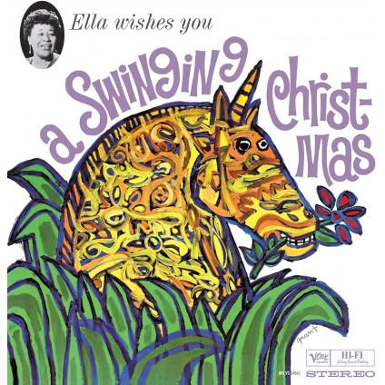 Ella Wishes You A Swinging Christmas (180 Gr. Vinyl Gatefold) - Fitzgerald Ella - LP